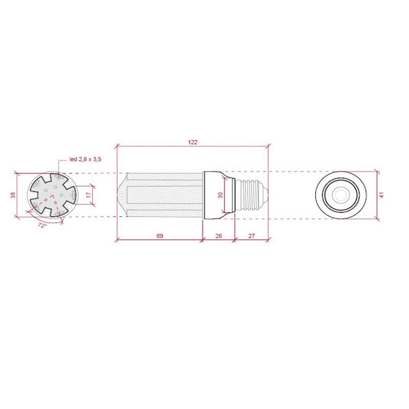 G9 LED SMD5050