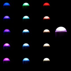 Luz Bombilla led RGB E27 10W