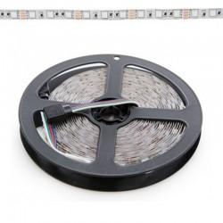 Tira RGB 14,4W 12V SMD5050 60Leds/metro