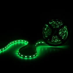 Verde Tira RGB 14,4W 12V SMD5050 60Leds/metro