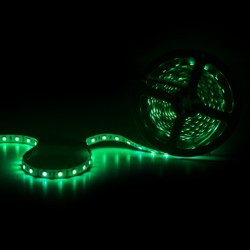Verde tira de led rgb, led multicolor
