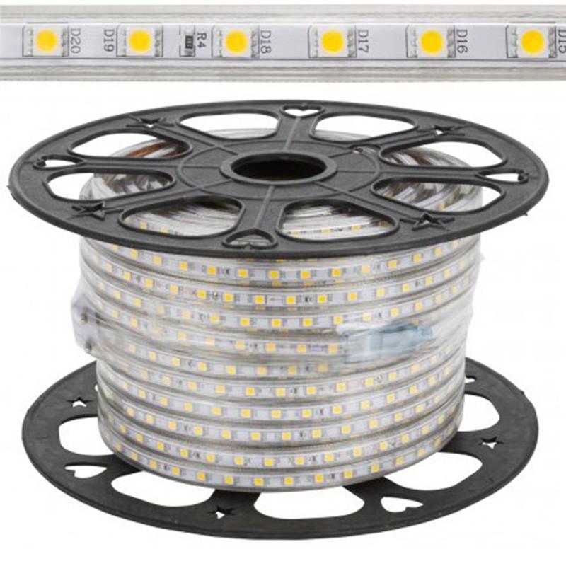 Tira LED 10W 220V SMD5050 60Leds/metro