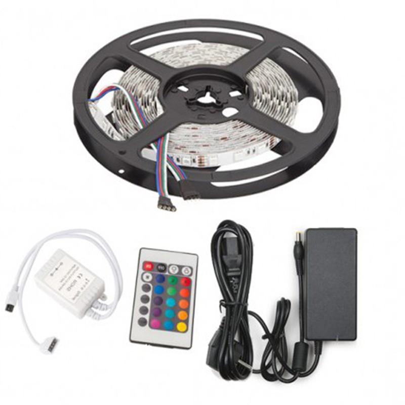 Kit Tira 72W IP25 RGB SMD5050 300Leds