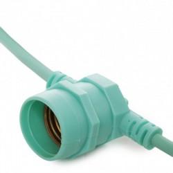 Comprar Cadena Luminosa Verde 11 x E27 IP44
