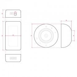 Esquema Controlador RGB Mando Circular 12-24V