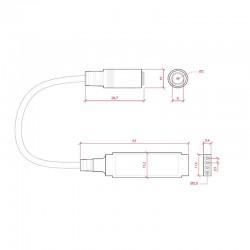 Esquema Controlador RGB Mini 12-24v