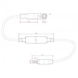 Esquema Controlador-Regulador Mini Unicolor 12-24v