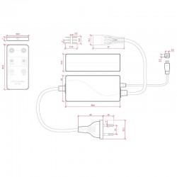 Esquema Controlador Dual 220v