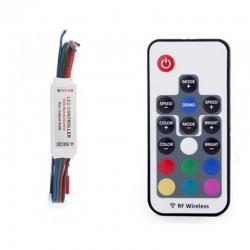 Controlador RGB Mini RF 5-24V