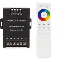 Controlador RGB Táctil 5 Canales