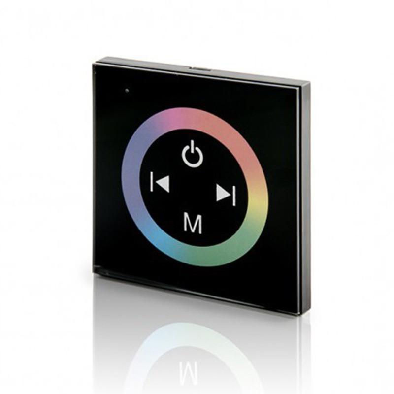 Controlador Empotrable Táctil RGB+Mando 12-24v