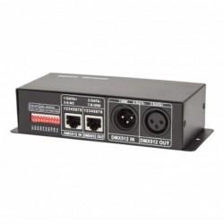 Controlador DMX512 RGB 12-24v