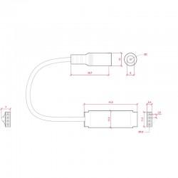 Esquema Amplificador RGB Mini 12-24v