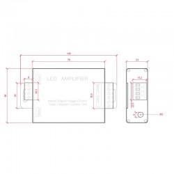 Esquema Amplificador RGB 12v