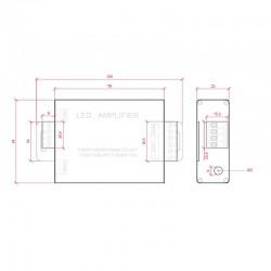 Esquema Amplificador RGB 24v
