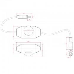 Esquema regulador de intensidad de luz