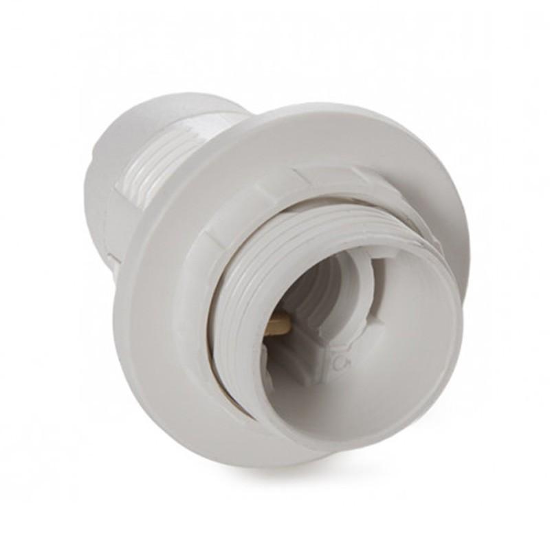 Portalámparas E14 Blanco