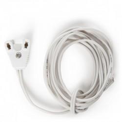Comprar Portalámparas Tubo T8 cable 120cm
