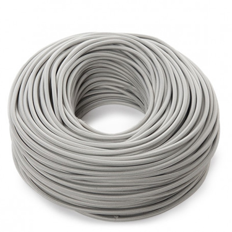Cable Gris 2x0,75 Redondo