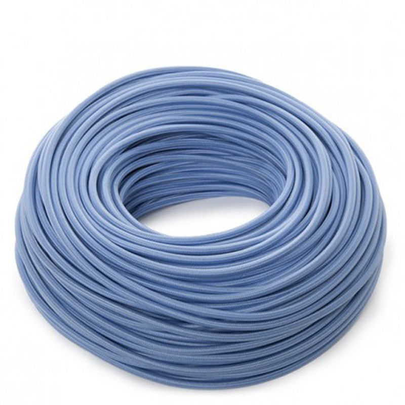 Cable Azul 2x0,75 Redondo