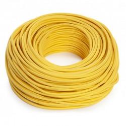 Cable Amarillo 2x0,75 Redondo