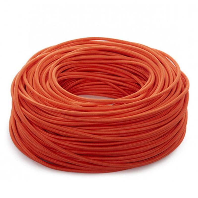 Cable Naranja 2x0,75 Redondo