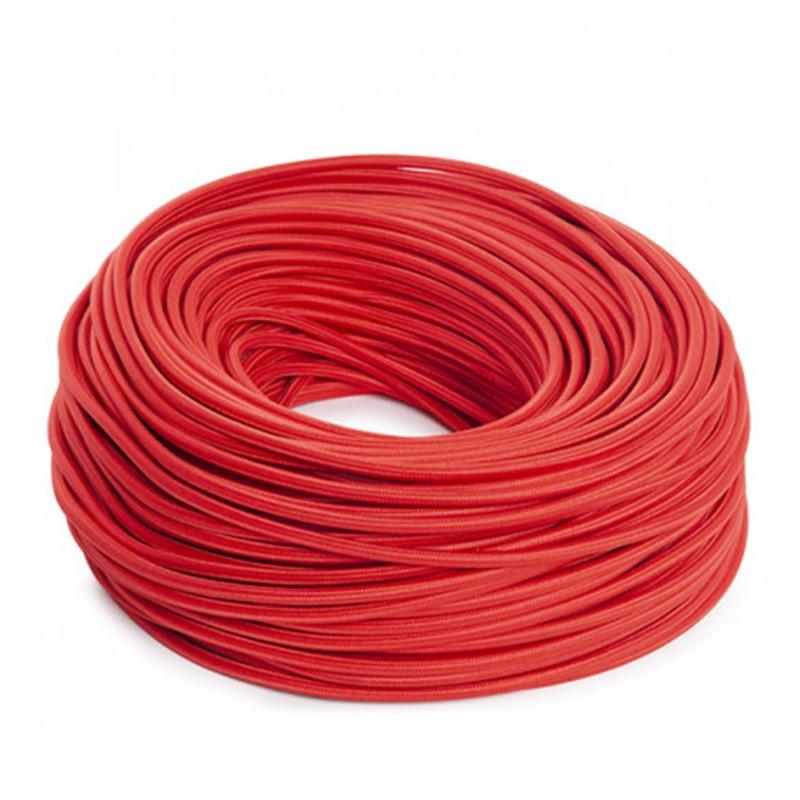 Cable Rojo 2x0,75 Redondo
