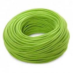 Cable Verde 2x0,75 Redondo