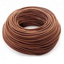 Cable Marron 2x0,75 Redondo