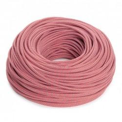 Cable Rojo-Blanco 2x0,75 Redondo
