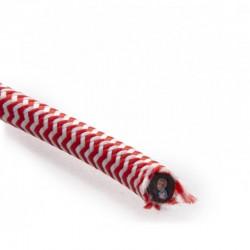 Comprar Cable Rojo-Blanco 2x0,75 Redondo