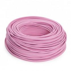 Cable Rosa 2x0,75 Redondo