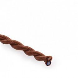 Comprar Cable Marron 2x0,75 Trenzado