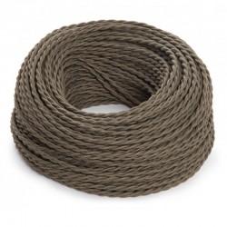 Cable Caqui 2x0,75 Trenzado