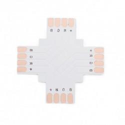 Conector para Soldar + Tira 10mm 12V RGB