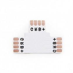 Conector para Soldar T Tira 10mm RGB
