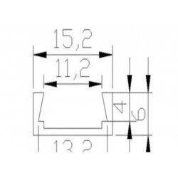 Medidas Perfil de aluminio estándar