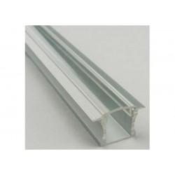 Perfil de aluminio profundo y empotrable