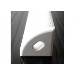 Perfil de aluminio esquinero contorno redondo