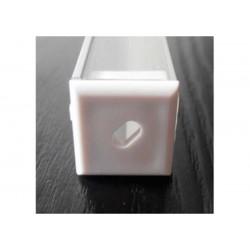 Perfil de aluminio esquinero cuadrado