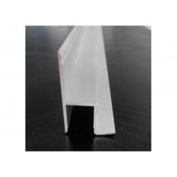 Perfil de aluminio tipo marco