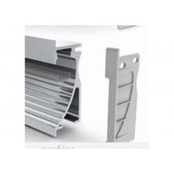 Perfil de aluminio con reflector