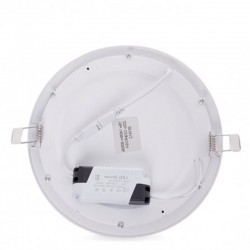 Sujeción Downlight circular 225mm 18W 1409Lm
