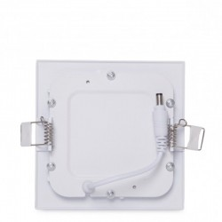 Sujeción Downlight cuadrado 120mm 6W 400Lm