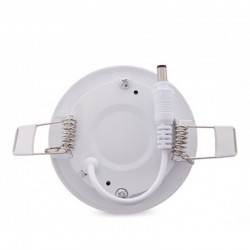 Sujeción Downlight circular 90mm 3W 230Lm