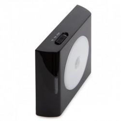 Luz con sensor de movimiento Led Negro