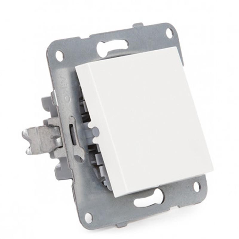 Interruptor Panasonic 10A 220V Tecla Blanca