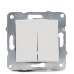 Comprar Interruptor Doble Panasonic 10A 220V Tecla Blanca