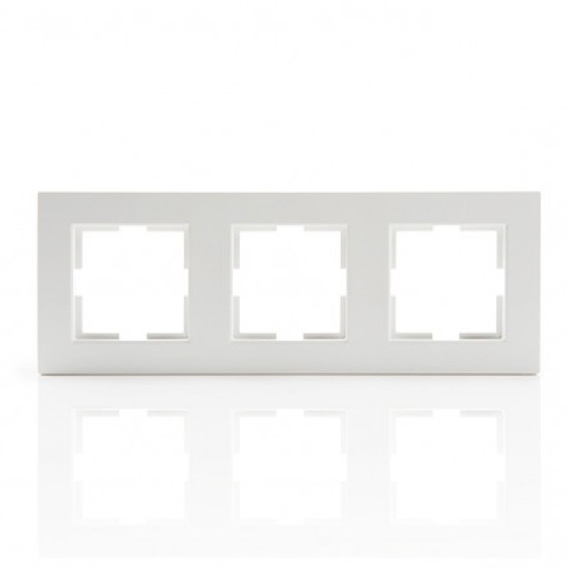 Marco 3 elemento Panasonic Blanco
