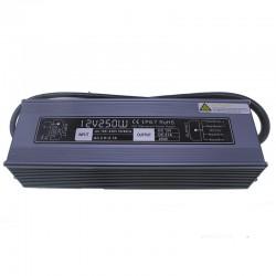 Transformador exterior 12v 250w ip67